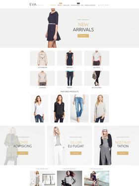 Zen Cart e-shop šablona na téma Móda č. 55063