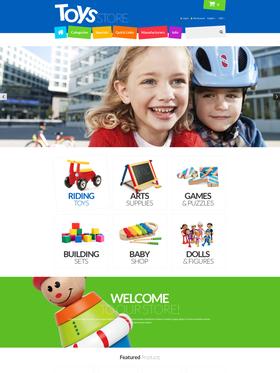 Zen Cart e-shop šablona na téma Zábava č. 55288