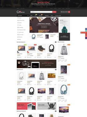 WooCommerce e-shop šablona na téma Podnikání č. 78522