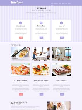 WordPress šablona na téma Café a restaurace č. 49291