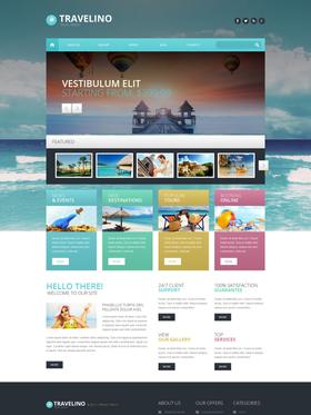 WordPress šablona na téma Cestování č. 51349