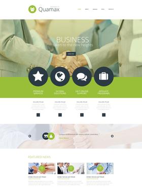 WordPress šablona na téma Podnikání č. 52950