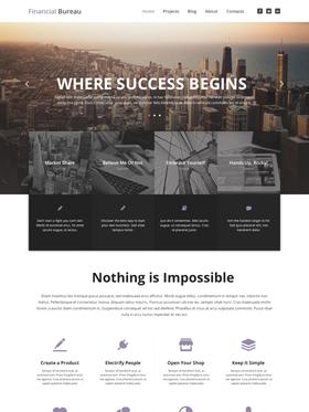 WordPress šablona na téma Podnikání č. 53444