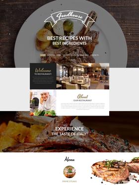 WordPress šablona na téma Café a restaurace č. 53766