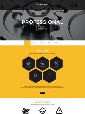 WordPress šablona na téma Podnikání č. 54938
