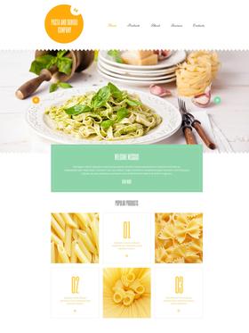 WordPress šablona na téma Café a restaurace č. 55187
