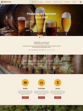 WordPress šablona na téma Café a restaurace č. 55486