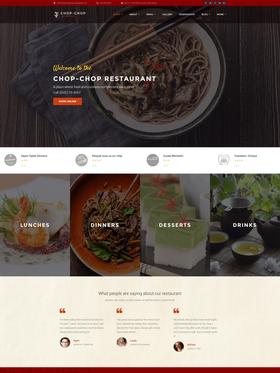 WordPress šablona na téma Café a restaurace č. 60108
