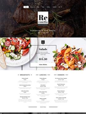Joomla šablona na téma Café a restaurace č. 58322