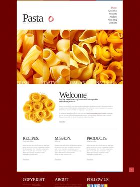 Joomla šablona na téma Café a restaurace č. 42624