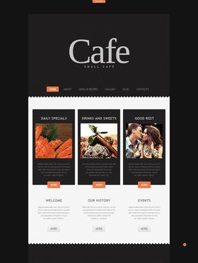 Joomla šablona na téma Café a restaurace č. 44559