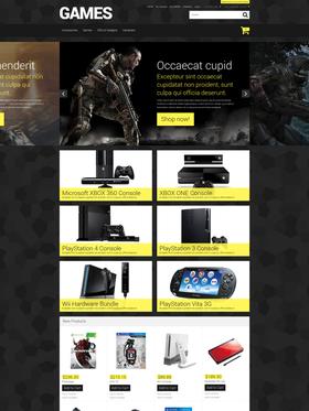Magento e-shop šablona na téma Hry č. 52165
