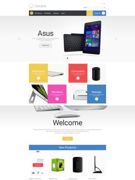 Magento e-shop šablona na téma Počítače č. 55468
