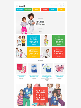 Magento e-shop šablona na téma Rodina č. 58581