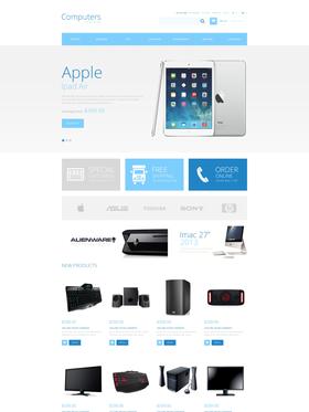 Magento e-shop šablona na téma Počítače č. 47674