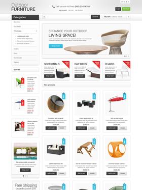 Magento e-shop šablona na téma Venkovní design č. 47678