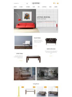 Moto CMS e-shop šablona na téma Interiér a nábytek č. 58816
