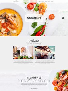 Moto CMS HTML šablona na téma Café a restaurace č. 54771