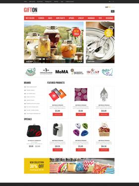 OpenCart e-shop šablona na téma Dárky č. 50980