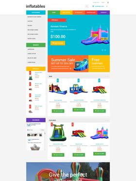 OpenCart e-shop šablona na téma Rodina č. 55013