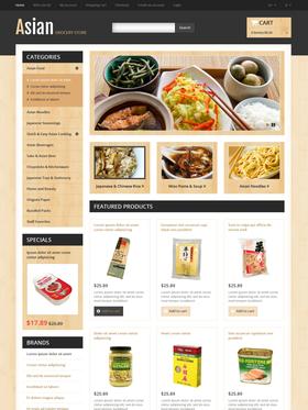 OpenCart e-shop šablona na téma Café a restaurace č. 46242