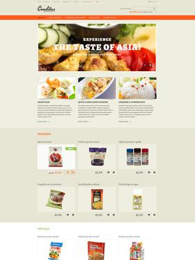 OpenCart e-shop šablona na téma Café a restaurace č. 47450