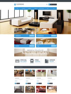OpenCart e-shop šablona na téma Interiér a nábytek č. 48074