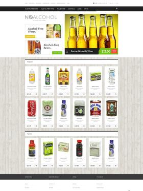 OpenCart e-shop šablona na téma Jídlo a pití č. 49051