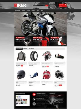 PrestaShop e-shop šablona na téma Auta č. 50747