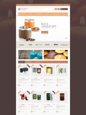PrestaShop e-shop šablona na téma Dárky č. 51078