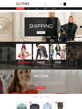 PrestaShop e-shop šablona na téma Móda č. 51868