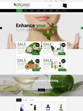 PrestaShop e-shop šablona na téma Krása č. 53007