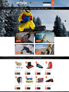 PrestaShop e-shop šablona na téma Sport č. 53088