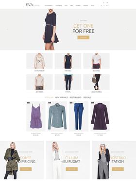 PrestaShop e-shop šablona na téma Móda č. 53912
