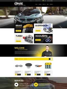 PrestaShop e-shop šablona na téma Auta č. 54986