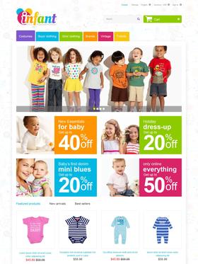PrestaShop e-shop šablona na téma Rodina č. 55246