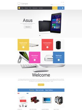 PrestaShop e-shop šablona na téma Počítače č. 57692