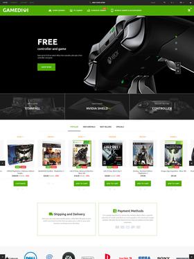 PrestaShop e-shop šablona na téma Hry č. 60014