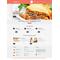 WordPress šablona na téma Café a restaurace č. 48840