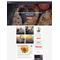 WordPress šablona na téma Café a restaurace č. 58395