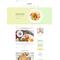 WordPress šablona na téma Café a restaurace č. 58572