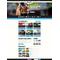 Flash CMS šablona na téma Kasino online č. 50657