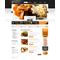 Flash CMS šablona na téma Café a restaurace č. 44115
