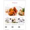 Moto CMS HTML šablona na téma Café a restaurace č. 42470