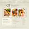 Moto CMS HTML šablona na téma Café a restaurace č. 45103