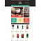 OpenCart e-shop šablona na téma Café a restaurace č. 51838